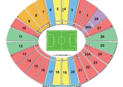 Rose Bowl Seating Chart Soccer