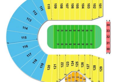 Ross-Ade Stadium Seating Chart Football