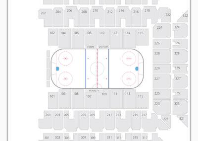 Royal Farms Arena Seating Chart