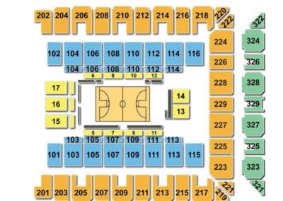 Royal Farms Arena Seating Chart Basketball