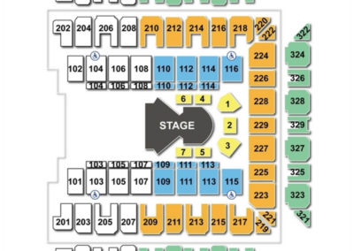Royal Farms Arena Seating Chart Cirque
