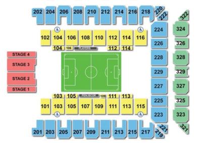 Royal Farms Arena Seating Chart Soccer