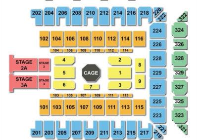 Royal Farms Arena Seating Chart UFC