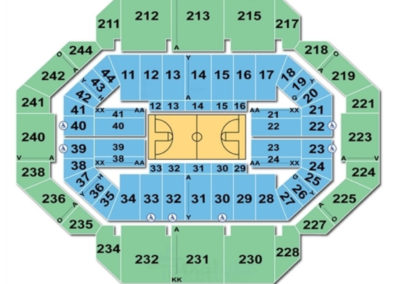 Rupp Arena Basketball Seating Chart