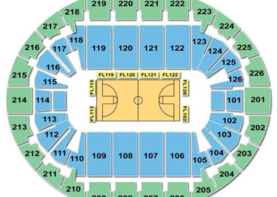 Southern New Hampshire University Arena Seating Chart