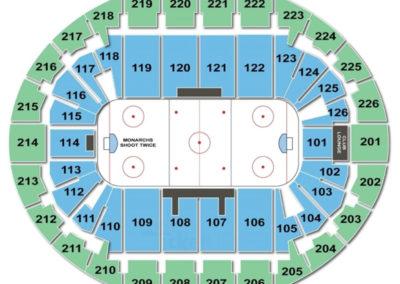SNHU Arena Seating Chart Hockey