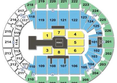 SNHU Arena Seating Chart WWE