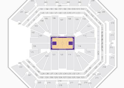 Sacramento Kings Seating Chart