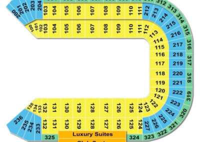 Sam Boyd Stadium Concert Seating Chart