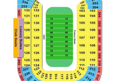 Sam Boyd Stadium Seating Chart
