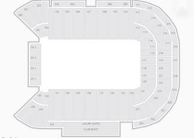 Sam Boyd Stadium Seating Chart Concert