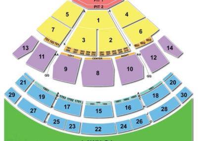 Saratoga Performing Arts Center (SPAC) Seating Chart