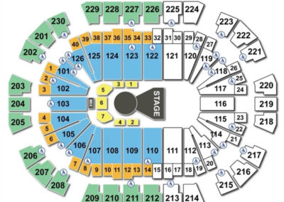 Save Mart Center Cirque Seating Chart