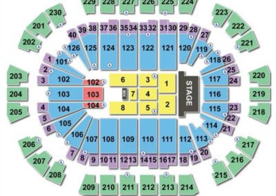Save Mart Center Concert Seating Chart