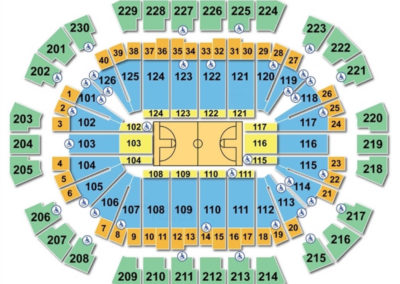 Save Mart Center Seating Chart Basketball