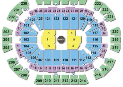 Save Mart Center Seating Chart UFC