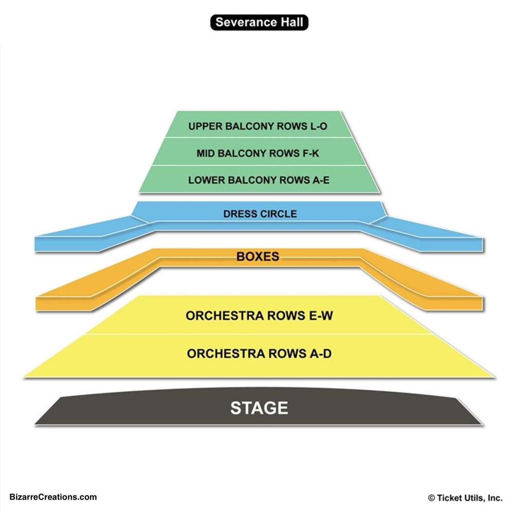 Severance Hall Seating Chart