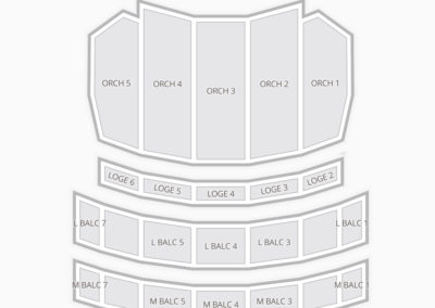 Sheas Performing Arts Center Seating Chart