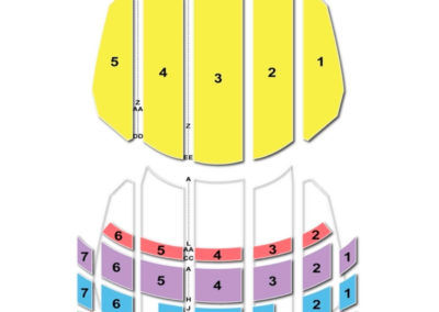 Sheas Buffalo Seating Chart