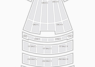 Shrine Auditorium Seating Chart Concert
