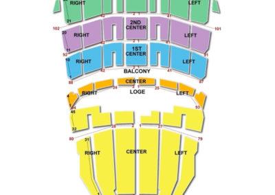 Shrine Auditorium Seating Chart - Los Angeles