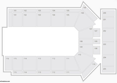 Sioux City Musketeers Seating Chart
