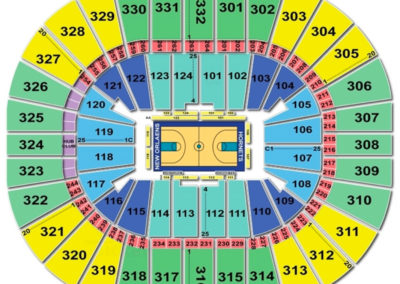 Smoothie King Center Basketball Seating Chart