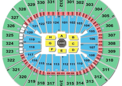 Smoothie King Center Seating Chart UFC