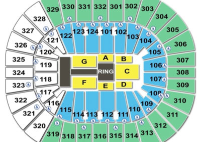 Smoothie King Center Seating Chart WWE