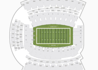 South Carolina Gamecocks Football Seating Chart