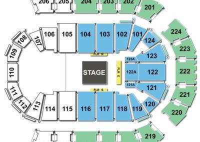 Spokane Arena Seating Chart Circus