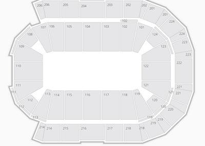 Spokane Arena Seating Chart Concert