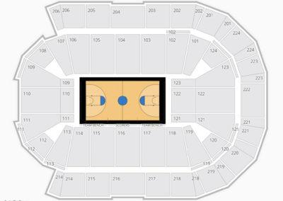 Spokane Arena Seating Charts