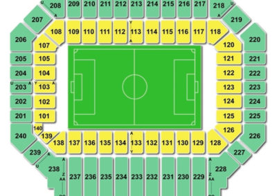 Stanford Stadium Seating Chart Soccer