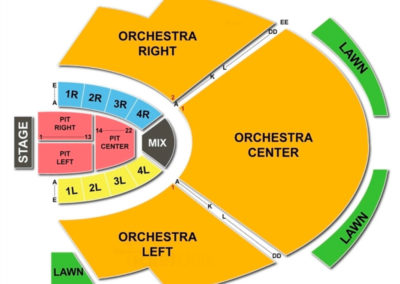 Cadence Bank Amphitheatre at Chastain Park Seating Chart