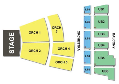 State Theatre Portland Maine Seating Chart