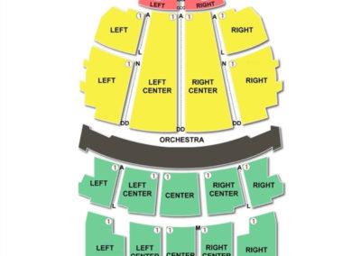 Stifel Theatre Seating Chart