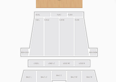 Stranahan Theater Seating Chart