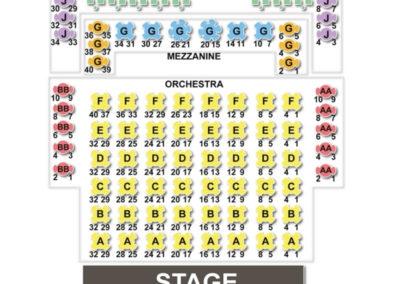 Straz Center Jaeb Theater Seating Chart