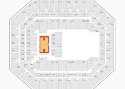 Syracuse Orange Basketball Seating Chart