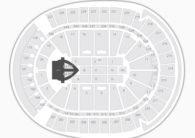 T-Mobile Arena Concert Seating Chart