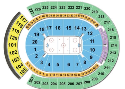 T-Mobile Arena Seating Chart Hockey