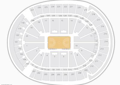 T-Mobile Arena Seating Chart NBA