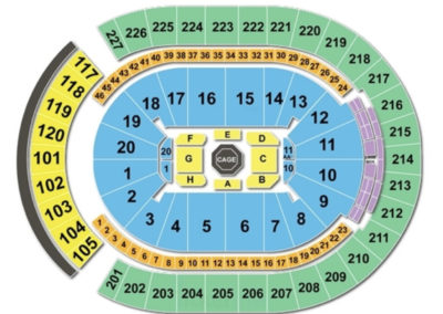 T-Mobile Arena Seating Chart UFC