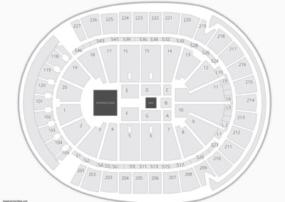 T-Mobile Arena Wwe Seating Chart