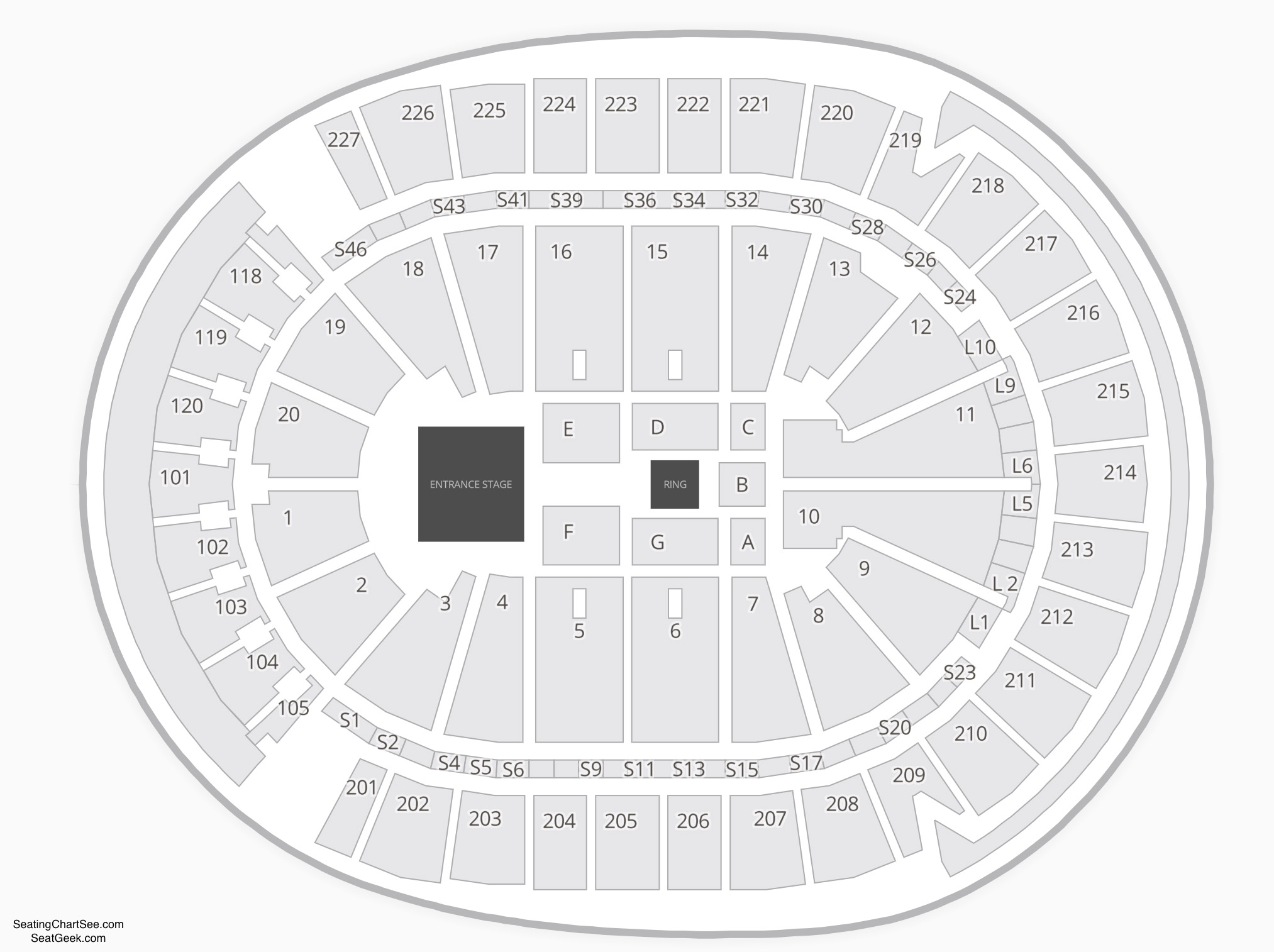 T Mobile Arena Seating Charts Views Games Answers Cheats
