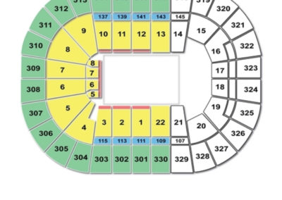 TD Garden Circus Seating Chart