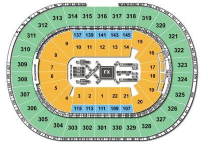 TD Garden Gymnastics Seating Chart