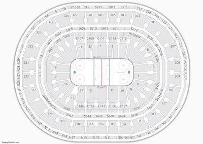 TD Garden Seating Chart NCAA Hockey