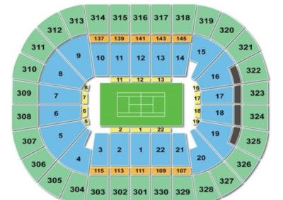 TD Garden Tennis Seating Chart